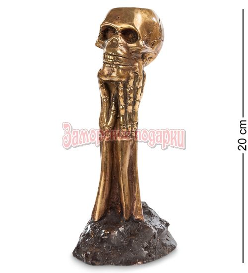 "43-088 Фигурка ""Скелет"" (бронза, о.Бали)"