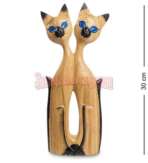 """40-008 Статуэтка """"Кошки - двое из ларца""""  суар 30 см"""