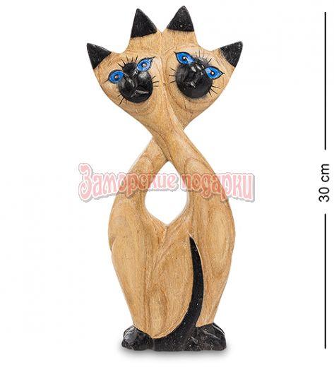 """40-005 Статуэтка """"Забавные кошки"""" суар 32 см"""
