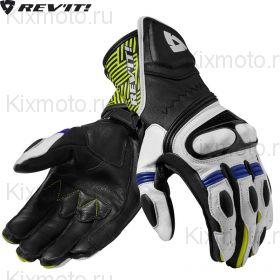 Перчатки Revit Metis , Черно-бело-желтые