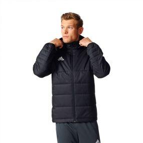Куртка adidas Tiro 17 Winter Jacket длинная зимняя чёрная