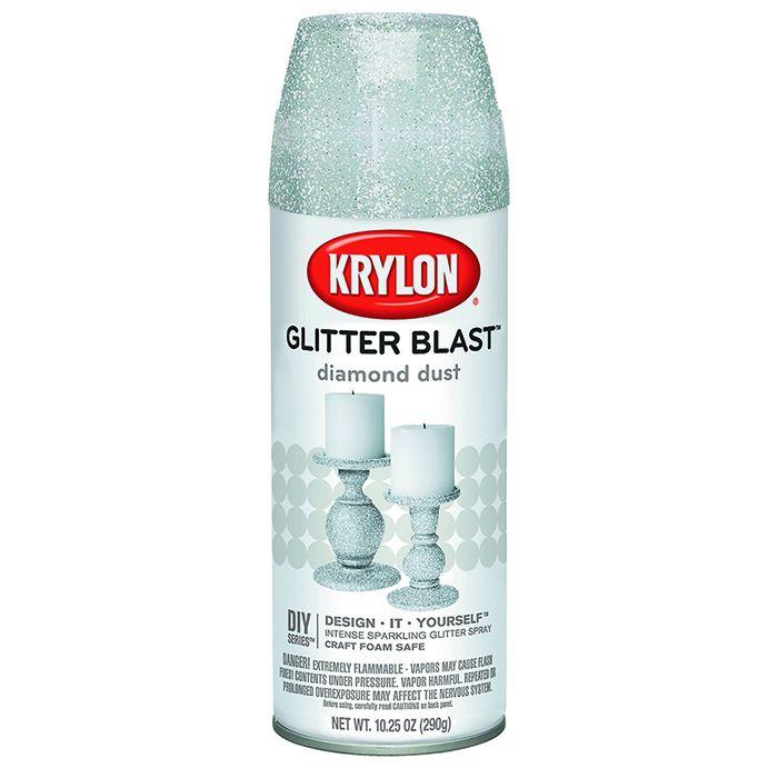 """Krylon Аэрозольный глиттер эффект мерцания, название цвета """"Бриллиант"""", вес 290 гр."""
