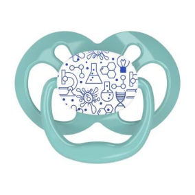 Dr.Brown's Пустышка Advantage™, 6-18 месяцев, с колпачком, синяя (арт. PA21002)