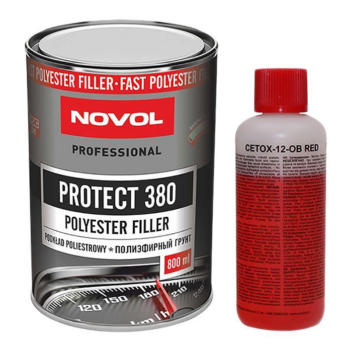 NOVOL Грунт Протект 380 полиэфирный (комплект), объем 800мл. + 80мл.
