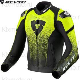 Куртка Revit Quantum, Черная с неоновым желтым