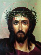 Икона Спас в терновом венце