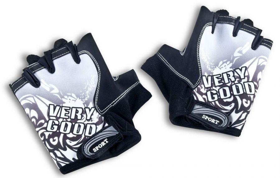 Классические спортивные перчатки полу-палец LongKeeper Серый