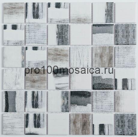 R-323. Мозаика чешуйки  серия RUSTIC, размер, мм: 306*306*5 (NS Mosaic)
