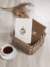 Комплект вафельных полотенец SALVA (45*65)*2  Арт.3477-1