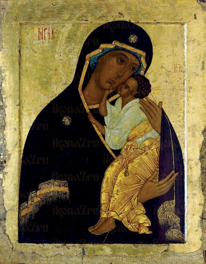 Икона Умиление Ярославская Божия Матерь