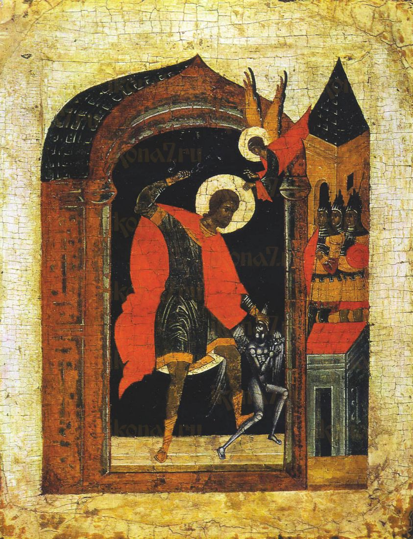 Икона Никита Бесогон (16 век)