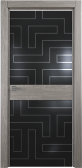 Межкомнатная дверь Ultra 18 Рисунок Лабиринт