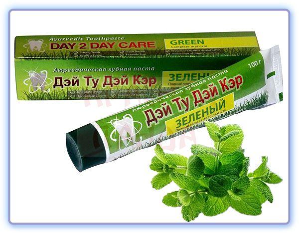 Аюрведическая зубная паста Зеленая Дэй Ту Дэй Кер