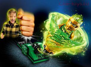 Конструктор LARI Ninjago Бой мастеров кружитцу — Ллойд 11322 (Аналог LEGO Ninjago 70681) 76 дет