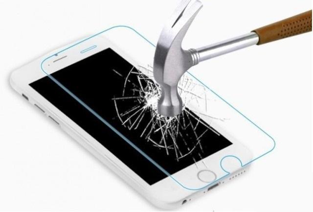 Защитное стекло Huawei Honor 8A/Y6 2019 (бронестекло, 3D white)