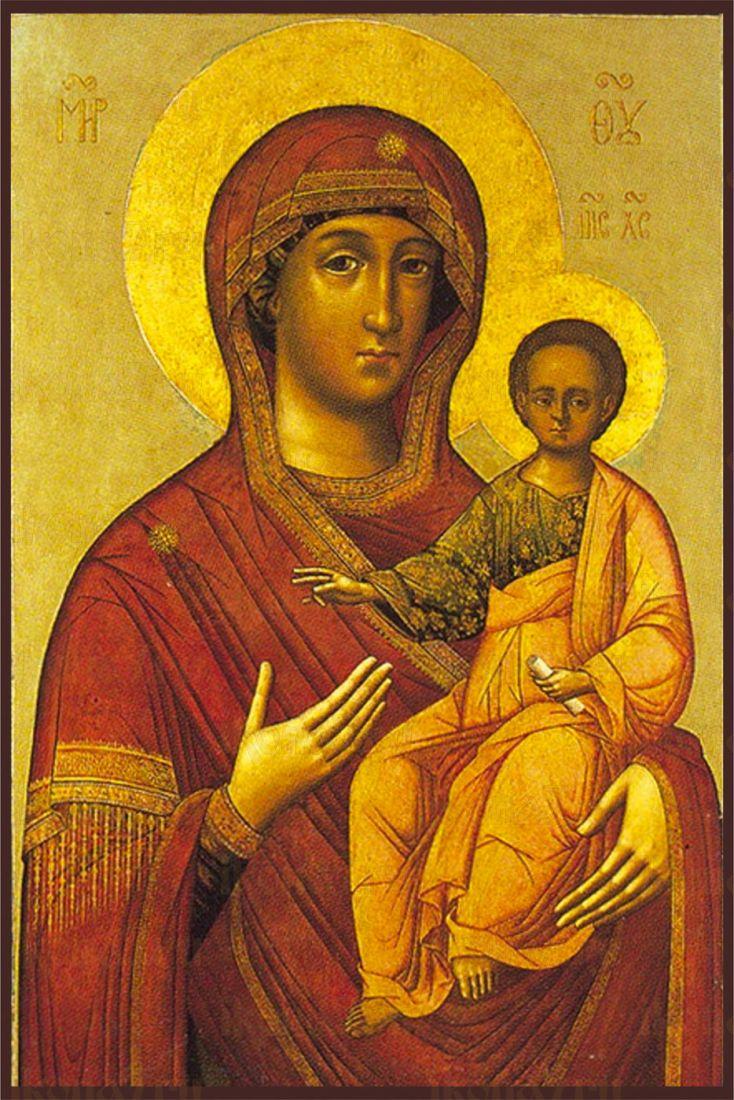 Икона Смоленская (Одигитрия) Божия Матерь
