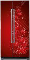 Наклейка на холодильник - Оттенки красного | магазин Интерьерные наклейки