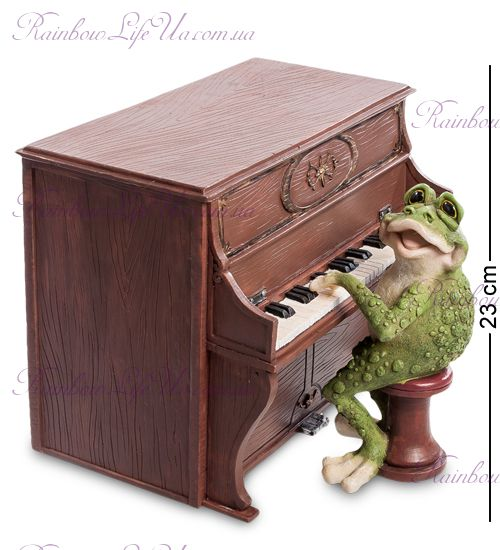 "Кашпо Лягушка с пианино ""Sealmark"""