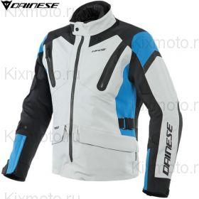 Мотокуртка Dainese Tonale D-Dry, Серо-черно-синяя