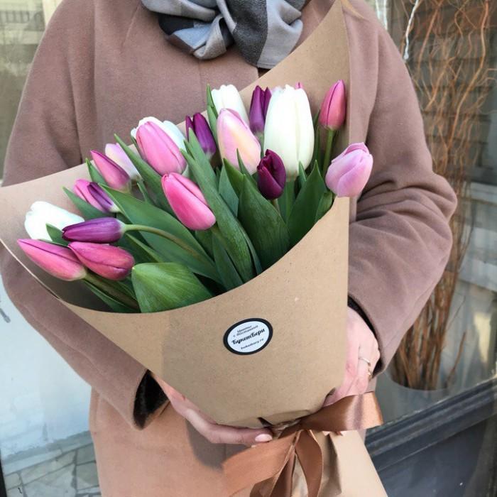 25 тюльпанов (микс)