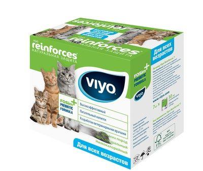 Пребиотический напиток Viyo для кошек всех возрастов 7 по 30 мл