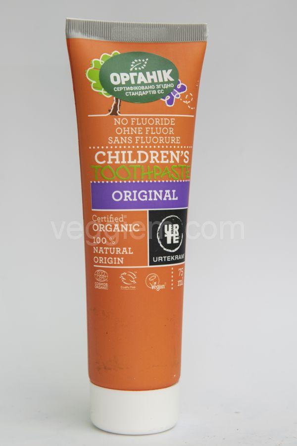 Органическая Детская зубная паста Urtekram, 75 мл