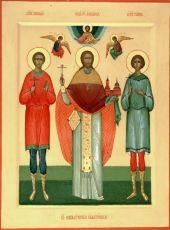 Икона Николай Копнинский мученик