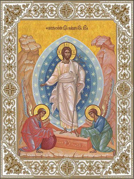 Икона Воскресение Господа нашего Иисуса Христа