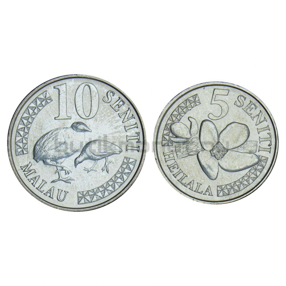 Набор монет 2018 Тонга (2 штуки)