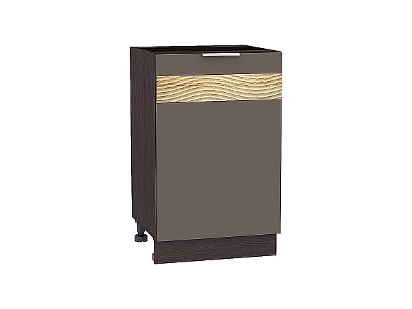 Шкаф нижний Терра Н500 D (Смоки софт)