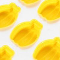 Форма для льда силиконовая Бананы (цвет жёлтый)_3