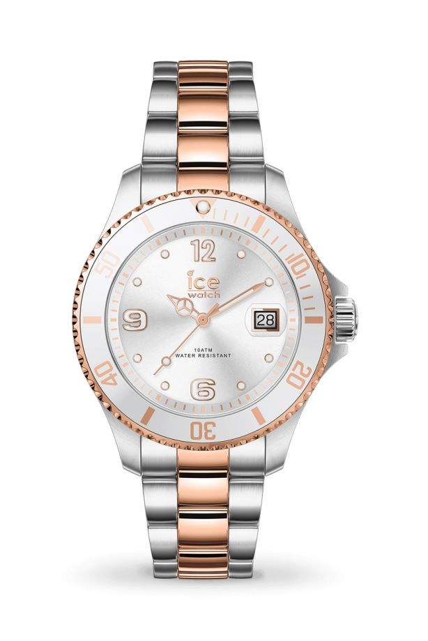 Ice Steel - Silver rose-gold