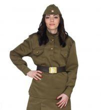 Гимнастёрка военная женская к 9 мая