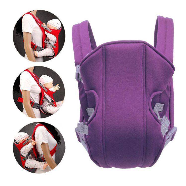 Рюкзак-кенгуру для детей от 3 до 16 месяцев (цвет фиолетовый)