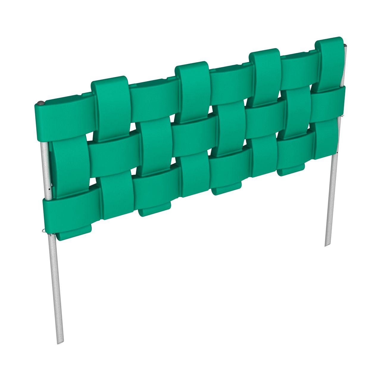 Заборчик декоративный FLOX зеленый