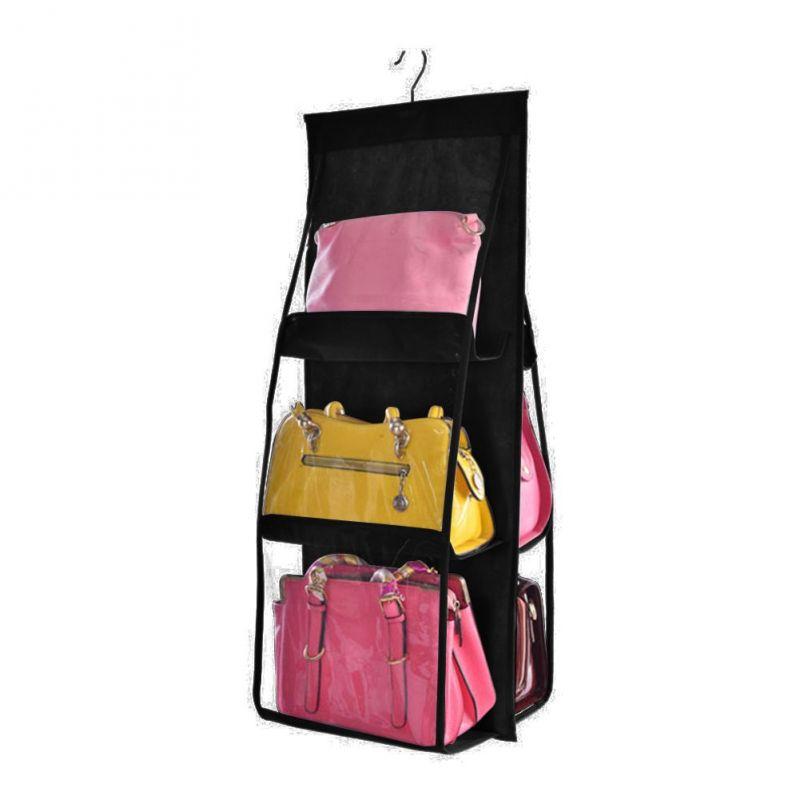 Органайзер для сумок Hanging Purse Organizer (цвет чёрный)