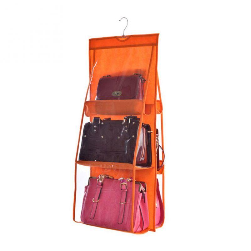 Органайзер для сумок Hanging Purse Organizer (цвет оранжевый)