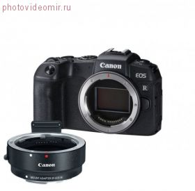 Фотоаппарат Canon EOS RP Body + Mount Adapter EF-EOS R