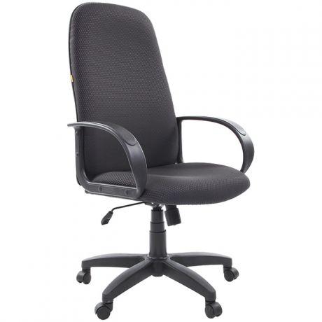 Кресло руководителя Chairman 279 PL, ткань JP черно-серая, механизм качания