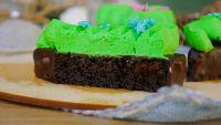 [Pastry-School] Пирожные «Новогодние Елочки» (Елена Крохмаль)