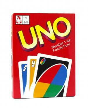 Карты для настольной игры UNO (пластик, в боксе)