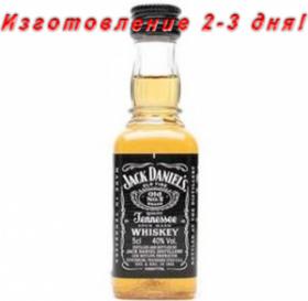 Силиконовая форма для мыла Бутылка Джек Дэниэлс