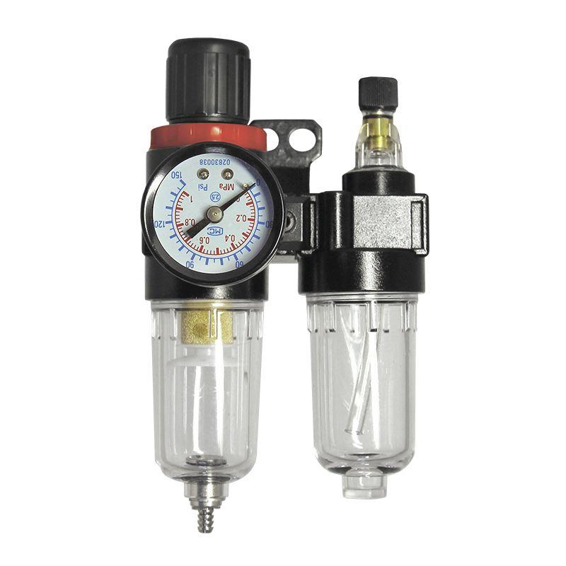 """Jeta JF20 Модуль: фильтр конденсата с регулятором и манометром - лубрикатор, максимальное давление 10 бар, 1/4"""""""