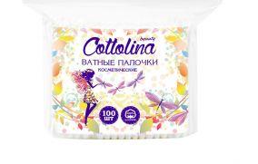 Ватные палоки Cottolina, 100 шт.