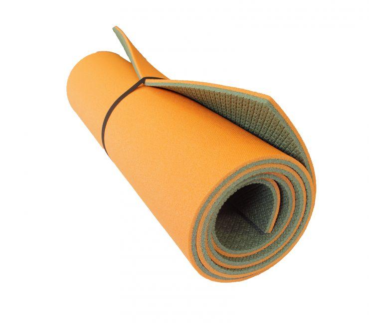 Коврик WoodLand Forest Lux 10 1800x600x10 мм, цвет хаки/оранж