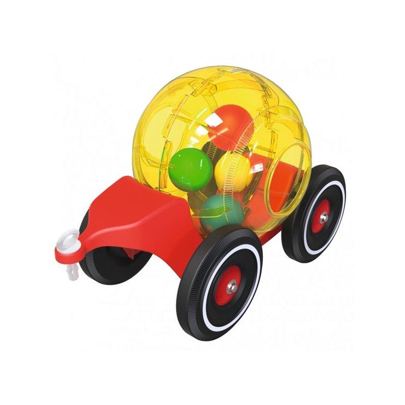 Прицеп для машинок Bobby Car с шариками 56262