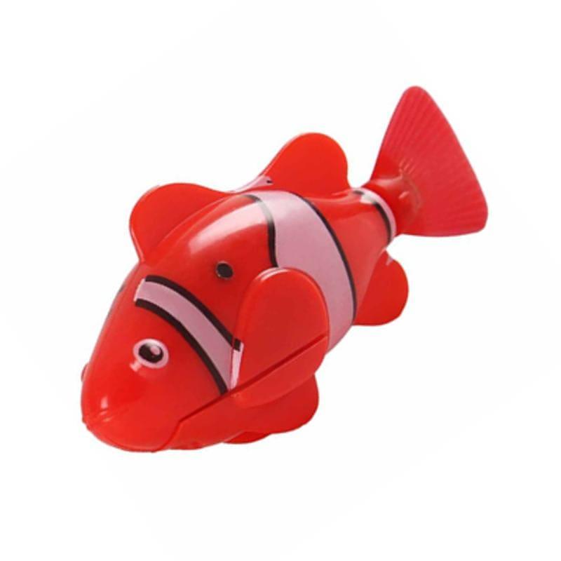 Интерактивная игрушка Роборыбка Клоун (Robo Fish), красная