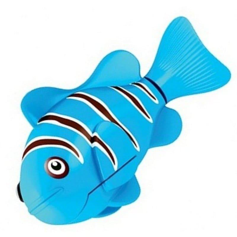 Интерактивная игрушка Роборыбка Клоун (Robo Fish), синяя