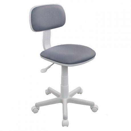 Кресло детское Бюрократ CH-W201NX/15-48, серый, без подлокотников