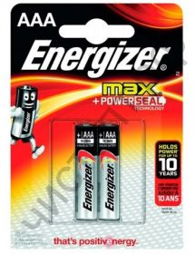 ENERGIZER  LR03 2BL  MAX +Power Seal (20)